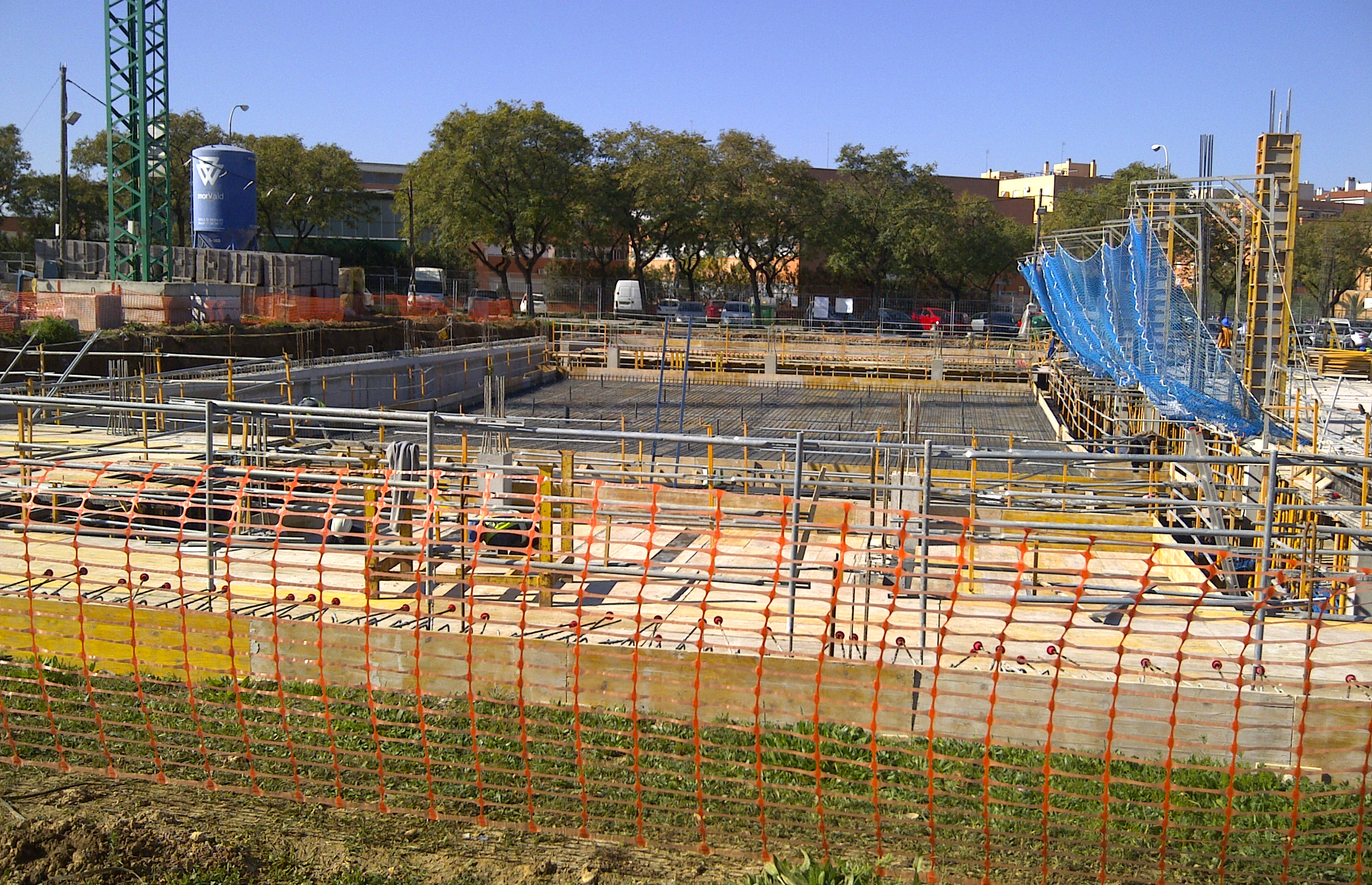 Avanzan las obras en los nuevos centros supera de talavera valdemoro y sevilla centro supera - Pisos nuevos en sevilla este ...