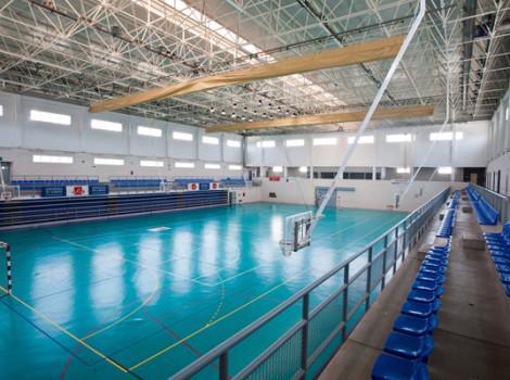 Complejo deportivo municipal distrito 6 los ngeles for Piscina municipal almeria